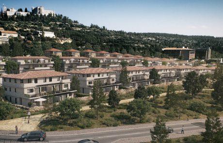 מחוז ירושלים: בתוך שנתיים ירידה של כ- 50% בבניית צמודי קרקע