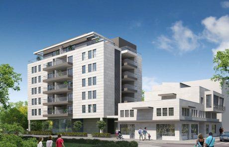 """פרויקט חדש בנס ציונה: """"נווה נורדאו"""" – """"נ. נווה חברה לבנייה"""" תקים בניין חדש בן 6 קומות ברח' נורדאו"""