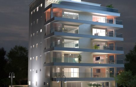 חברת שניר מכרה 5 דירות בפרויקט המגורים בשכונת דוד רמז בעיר טבריה