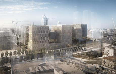 עיריית ירושלים אישרה למתן תוקף את היכל המשפט החדש בירושלים