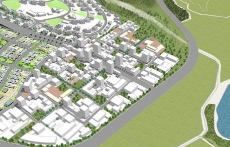 חריש: תוספת שטח לפיתוח לטובת רובע עירוני חדש מוטה עסקים
