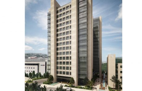 """בונים בירושלים: רד בינת נכסים בונה מרכז עסקים חדש עם 52,000 מ""""ר"""