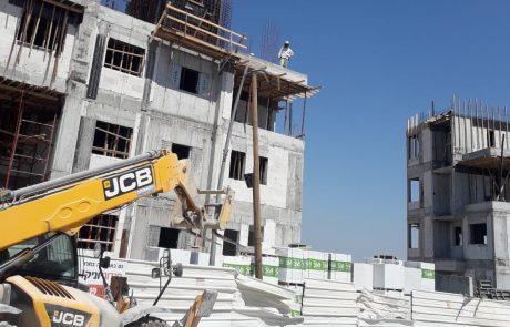 """משרד העבודה מפרסם את הערים הקטלניות בבניה: פ""""ת ויבנה מובילות את הרשימה עם 5 הרוגים בתאונות עבודה"""