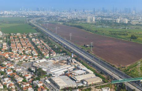 קרן ריאליטי ואפריקה ישראל ישנו של חטיבת קרקע מתעשייה – למגורים ותעסוקה