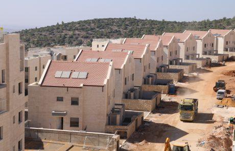צור הדסה מתרחבת- 1000 יחידות דיור ייבנו בשכונת סנסן