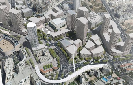 """1.4 מיליארד ש""""ח יושקעו בפרויקט 'הכניסה לעיר' – מרכז העסקים החדש של ירושלים"""