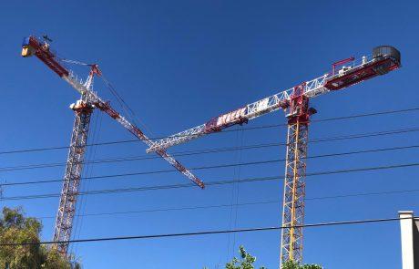 מאוחר מדי: קנסות וצווי סגירה לאתרי בנייה מסוכנים ומפעילי עגורנים ללא רשיון