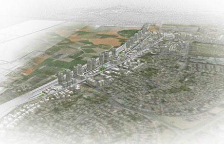 """הופקדה תכנית רשות מקרקעי ישראללהקמת 3,497 יח""""ד במזרח נתניה"""